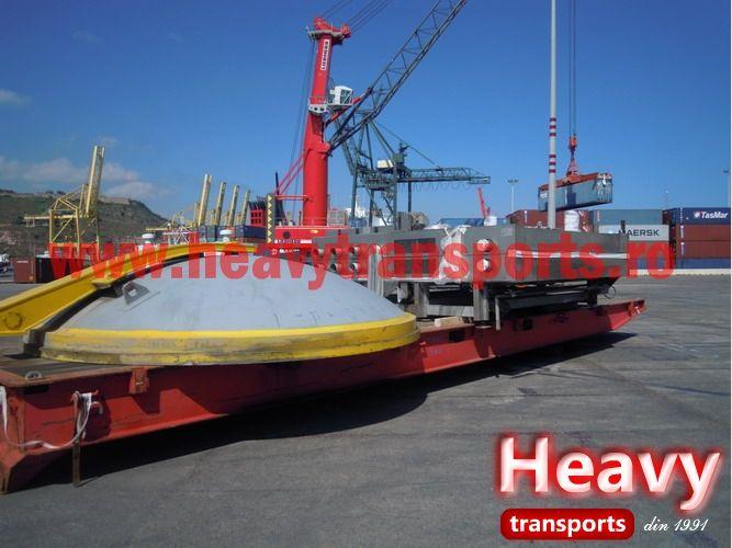 Galerie foto transport agabaritic international & intern - HeavyTransports.ro