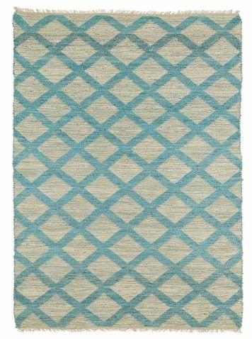 Kenwood Handmade Rectangle Area Rug - Teal (2' x 3') | Kaleen Rugs | Home Gallery Stores