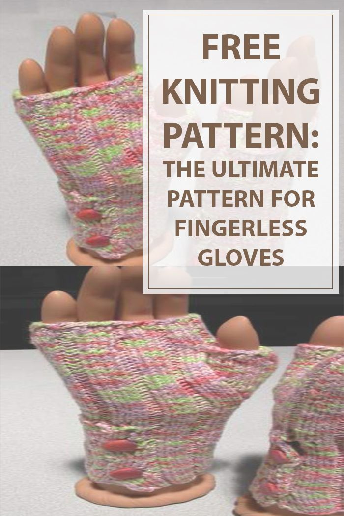 Buttoned Up Fingerless Gloves Knitting Pattern is an easy and quick way to make a gorgeous pair of fingerless knitted gloves with buttons. Enjoy knitting. #knitting #knit #knitted #pattern #crafts #diy | www.housewiveshobbies.com |