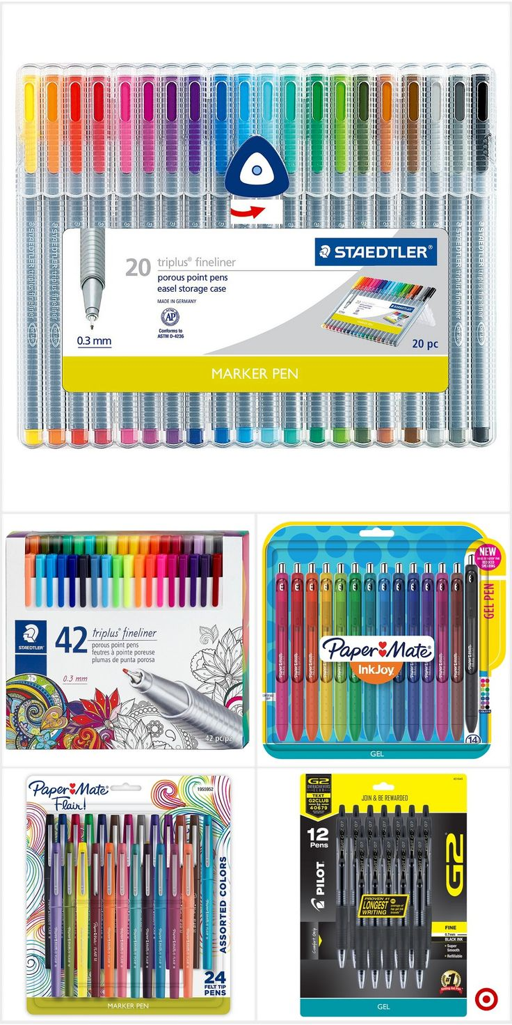 Shop Target for pens you will love at great low prices. Free shipping on orders of $35+ or free same-day pick-up in store.