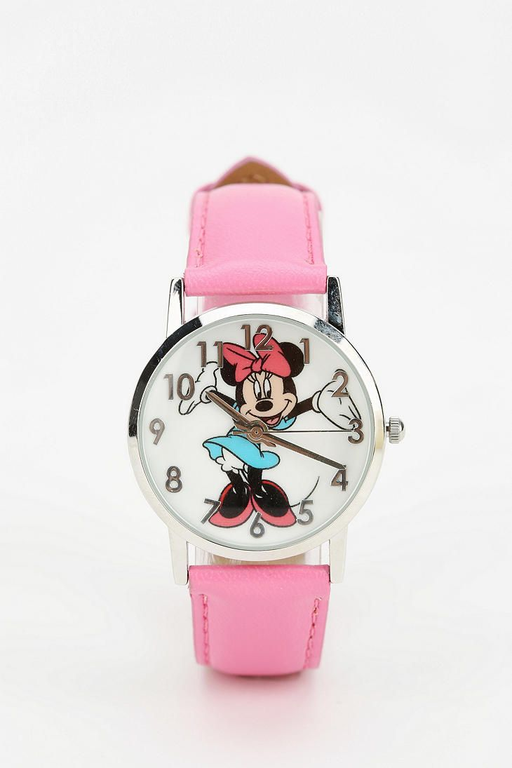 Minnie Mouse Watch #urbanoutfitters