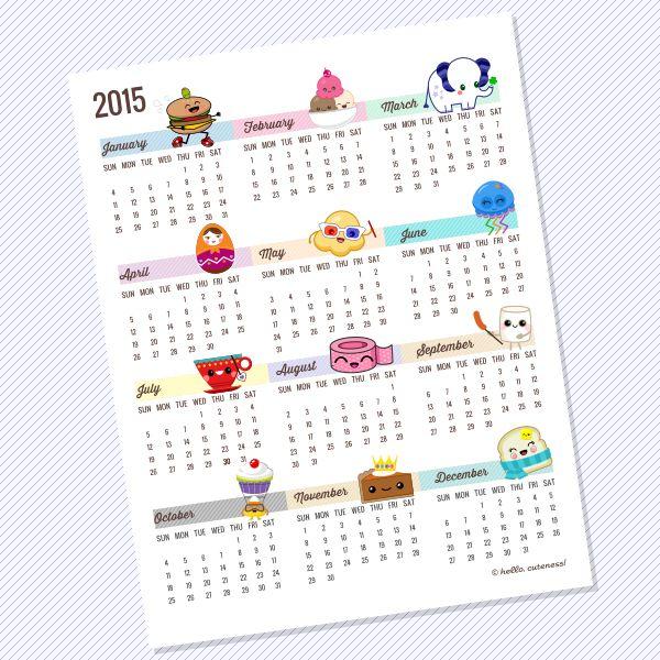 Last Year Calendar : Best ideas about printable yearly calendar on pinterest