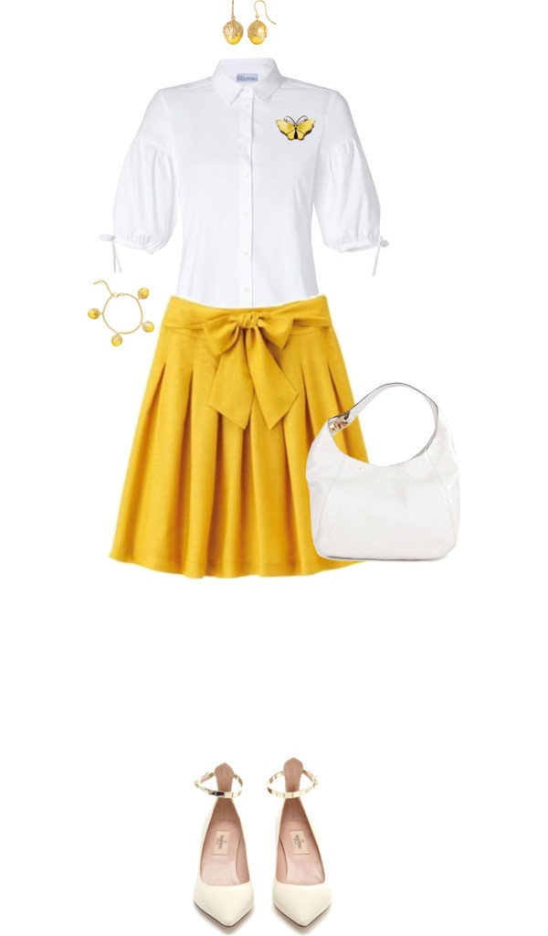 """""""Sunny Outfit"""" by angela-windsor on Polyvore"""
