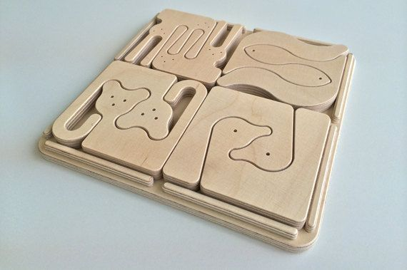 The Zoomaderita Collection is a beautifully-designed puzzle set by Objects by Medio. Made of plywood birch, each piece resembles beloved animals of rabbits, monkeys, horses, and more. All creatures...
