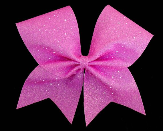 Gorgeous full glitter cheer bow for competition.