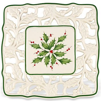 Holiday® Pierced Trivet by Lenox