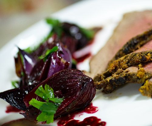 Roast Balsamic Beetroot and Onion