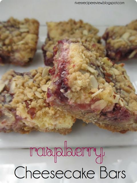 Raspberry Cheesecake Bars - The Recipe Critic - think I'm going to try this one with fresh raspberries heated with a bit of sugar instead of jam.