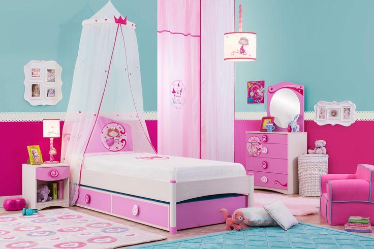 Cilek SL Princess Mädchenzimmer I 5 tlg.