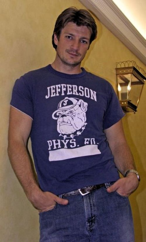 The gorgeous, geeky and funny Nathan Fillion