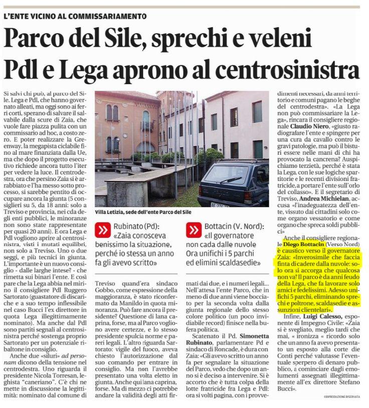 Rassegna Stampa 6-11-13 - Diego Bottacin
