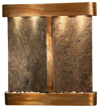 Amazing Perfect For Above The Dining Room Fireplace: Aspen Falls Wall Fountain,  Rustic Copper,