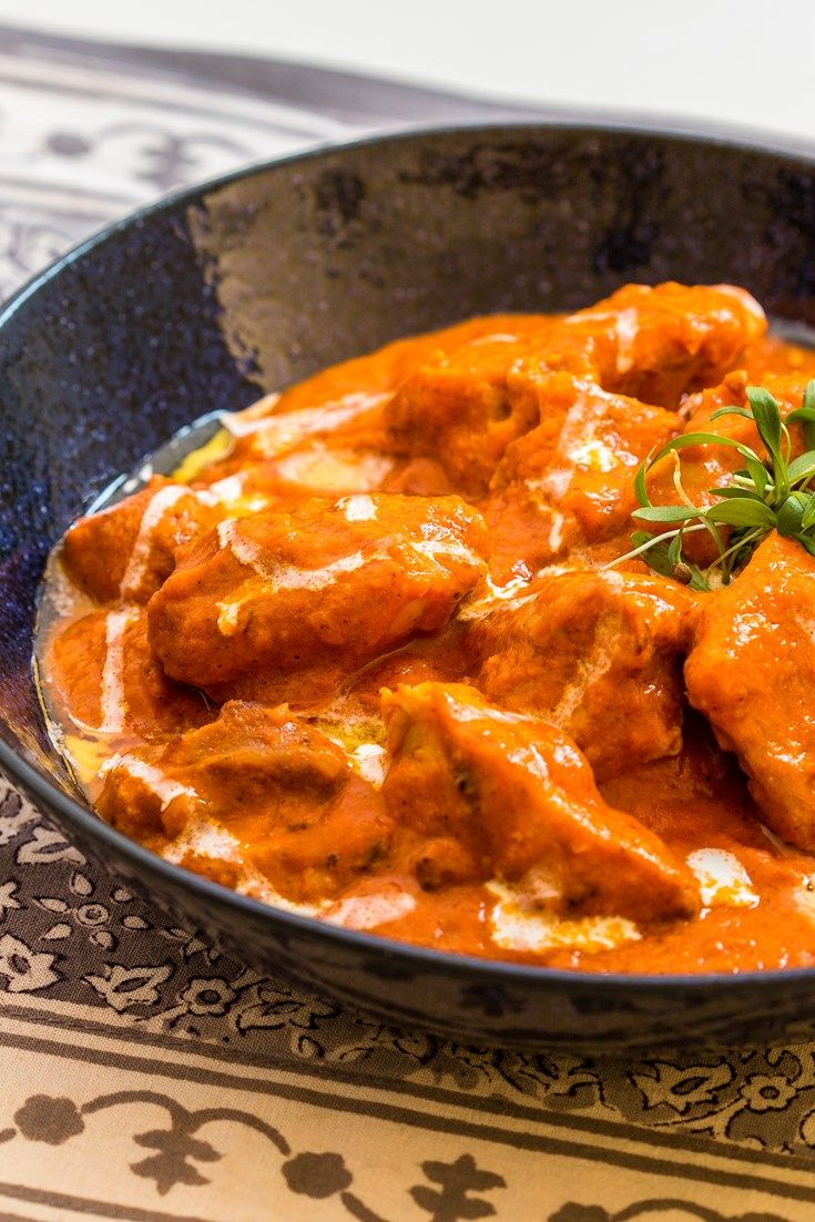 Alfred Prasad's chicken tikka masala recipe pays homage to Britain's national dish, offering a twist on the classic Indian dish murgh makhani.