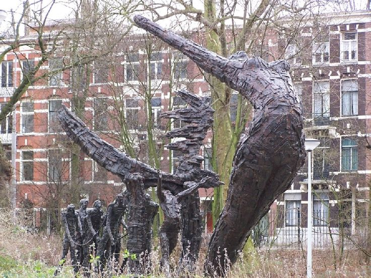 And here's the real deal! Slavery Monument by Erwin de Vries in Amsterdam/Oosterpark