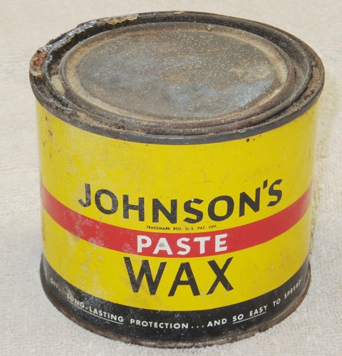 "Paste Floor Waxes For Hardwood Floors: Vintage Johnson's Paste Wax Tin Floor Wax 1 Pound ""1000"