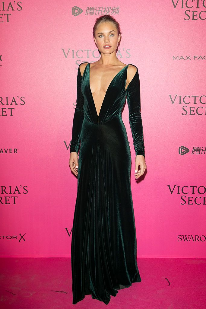 Brooke Perry attends the 2016 Victoria's Secret Fashion Show after party on November 30 2016 in Paris France
