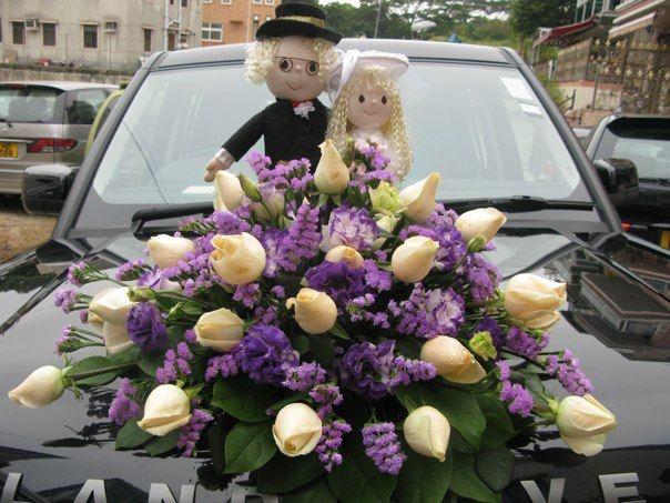 Wedding decoration for my friend Freeman and Mandy