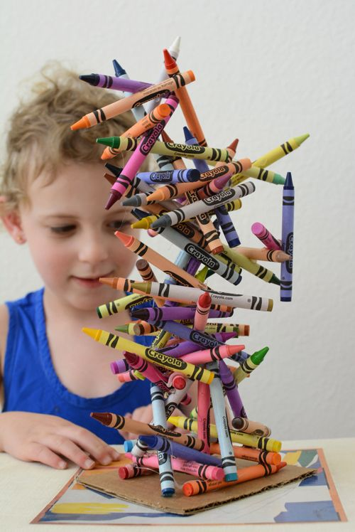 Crayon Art Sculpture by mericherry #DIY #Crafts #Crayons