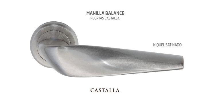 Manilla puertas de interior modelo Balance | Puertas Castalla