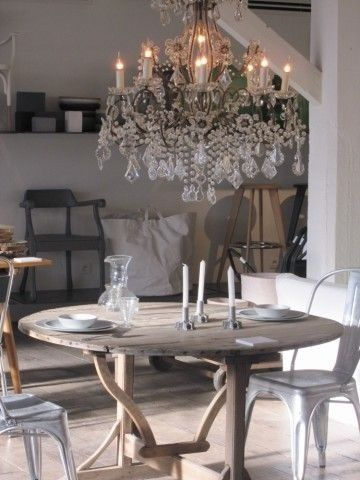 283 Best Lighting Images On Pinterest  For The Home Homes And Extraordinary Chandeliers For Dining Room Inspiration