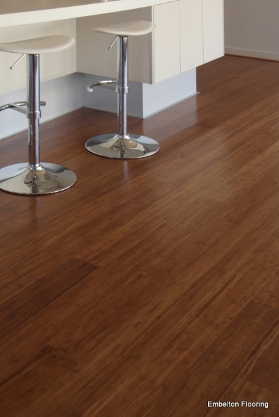Just Had Embleton Bamboo Flooring In Coffee Installed In