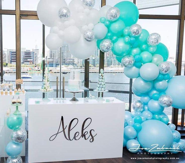 Best 25 Christening Balloons Ideas On Pinterest Party