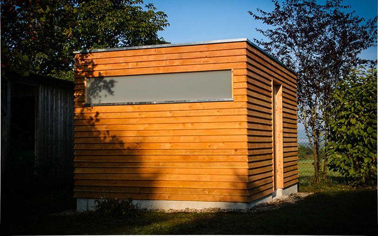 www.neuberga.com #Gartenhaus #Geräteschuppen #Fahrradschuppen #Unterstand #Flachdach #Lärchenholz #modern #zeitlos #schlicht #geradlinig #langlebig #Gartenraum #detailverliebt #erstklassig #craftsmanship #thenextbigthing >>>>>> Fahrrad- und Geräteschuppen in erstklassiger Ausführung aus dem Hause NEUBERGA !