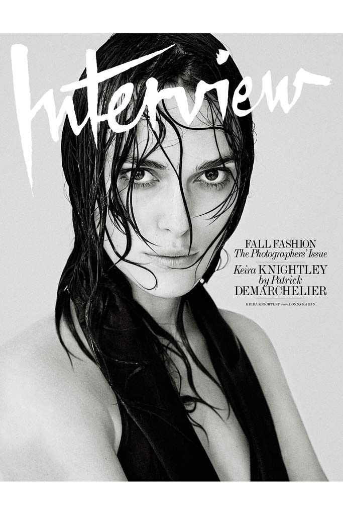 Patrick Demarchelier's cover featuring Kiera Knightley. [Courtesy Photo]