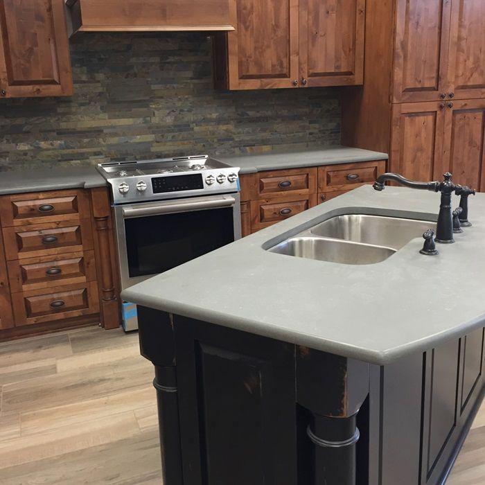 Kitchen Cabinets Scottsdale Az: Metropolis Grey Quartz Slab