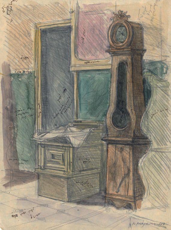 Yannis Moralis - the watch, 1940