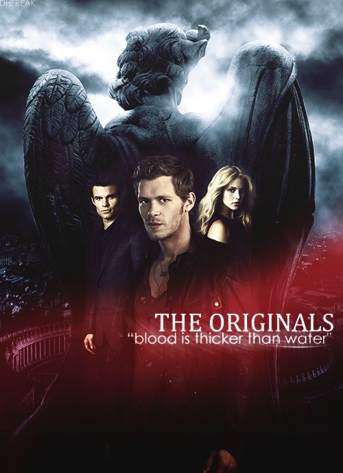 The Originals -  Klaus (Joseph Morgan), Rebekah (Claire Holt) and Elijah (Daniel Gillies)