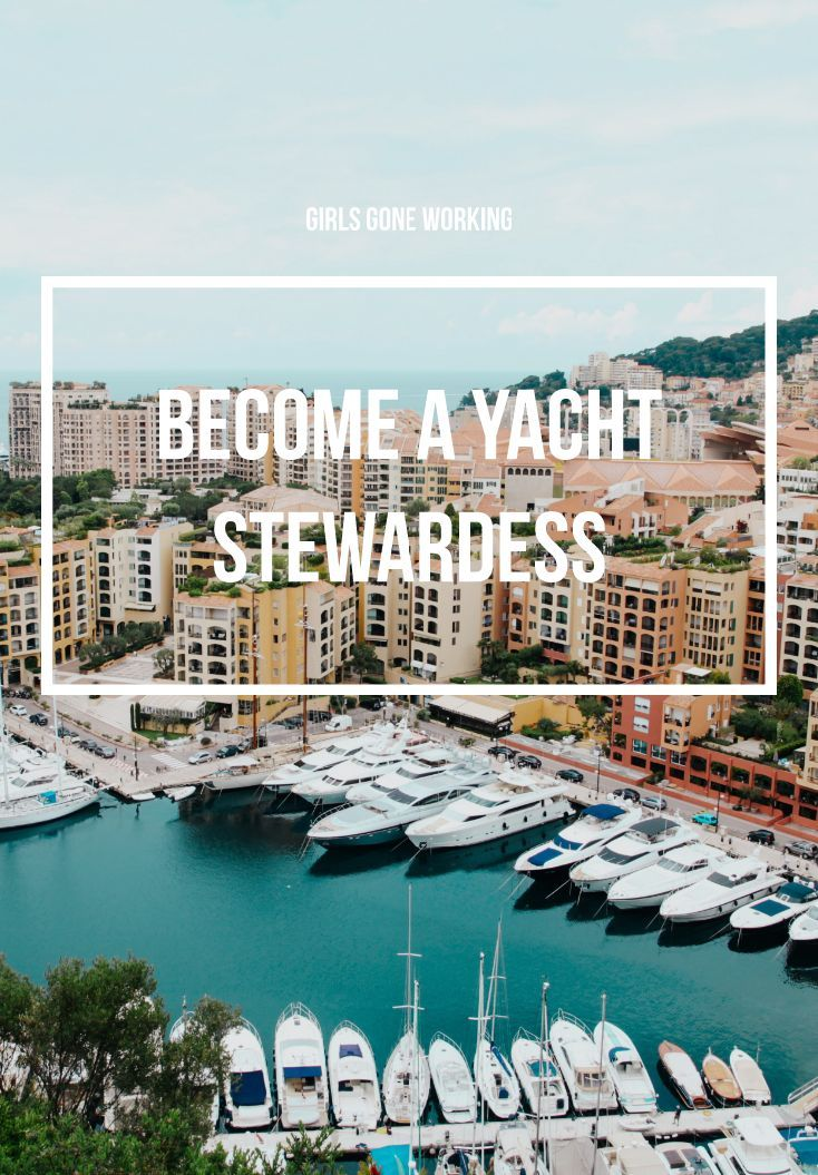 Gone working as a yacht stewardess with images yacht