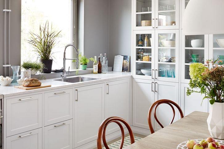 Kjøkkeninspirasjon -  gastro vit alt3