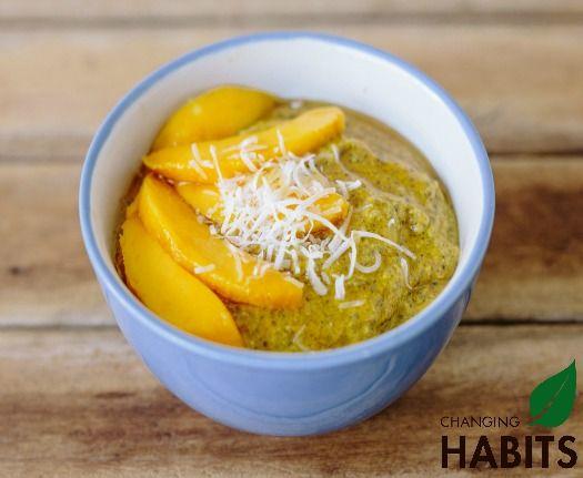 Anti-inflammatory Mango Coconut and Chia Pudding