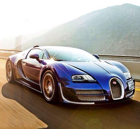 Blue Veyron