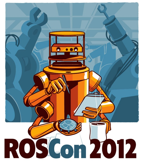 ROS (Robot Operating System) provides libraries and tools to help software developers create robot applications