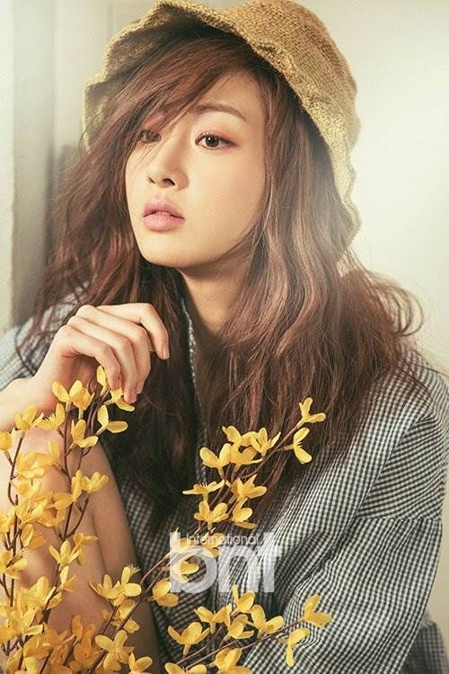 Kang Sora bnt International April 2014
