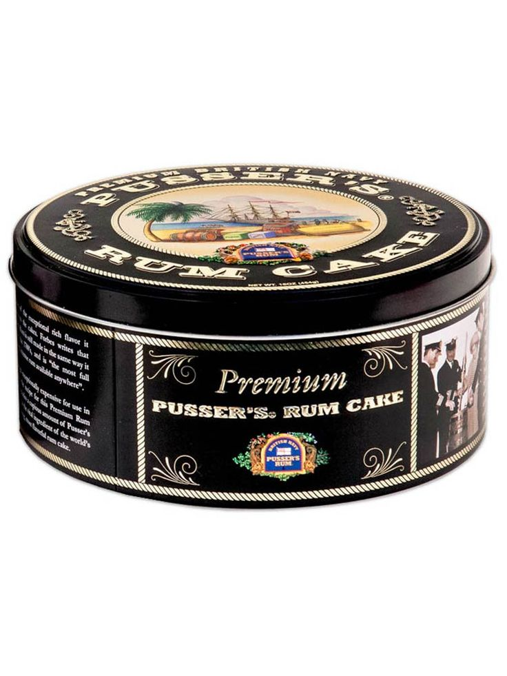 Pussers Rum Cake - 2LB (32oz)