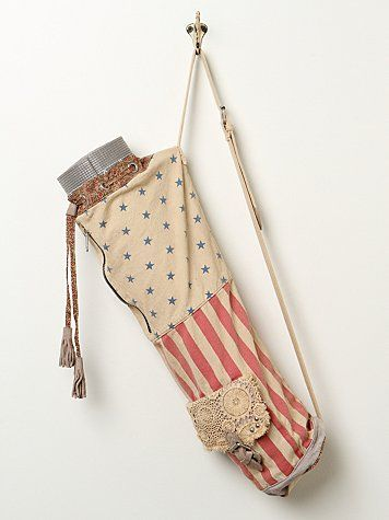 Free People yoga mat bag - I might actually get up for sunrise yoga if I got to use this bag... maybe..