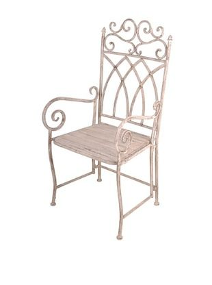 44% OFF Esschert Design USA Aged Metal Carver Chair