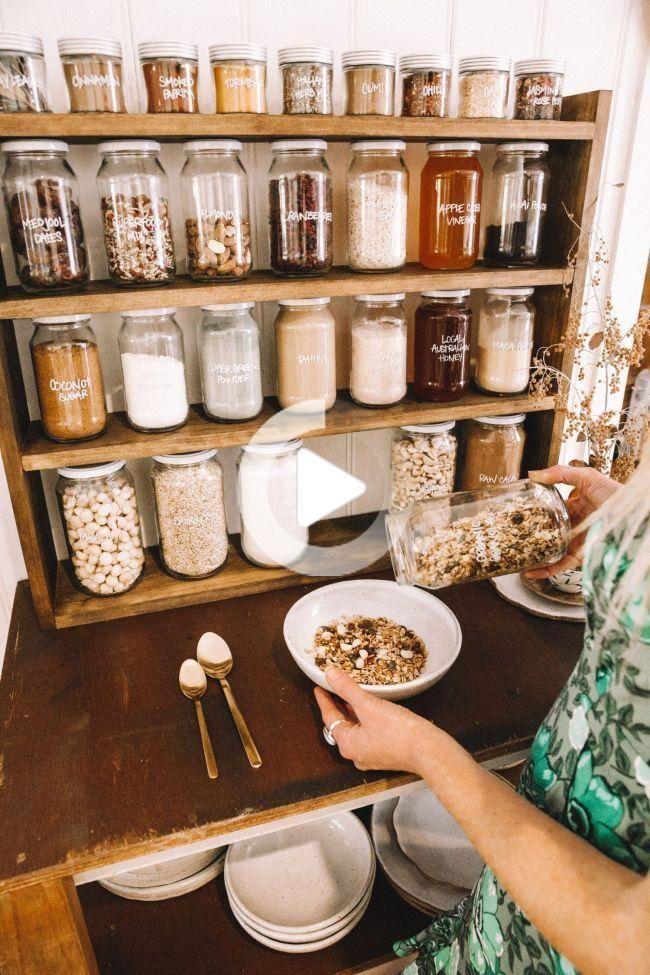 Bar A Petit Dejeuner Maison In 2019 Pinterest Pantry Home And Kitchen Goodcoffee Ba En 2020 Decoration De Cuisine Cuisine Fly Decoration De Cuisine Rustique