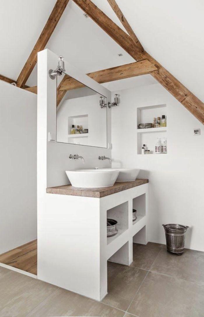 Petite Salle De Bain Sous Comble Small Bathroom Decor