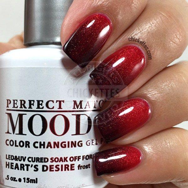 LeChat Perfect Match Mood Polish - Heart's Desire - Best 25+ Mood Polish Ideas On Pinterest Mood Nail Polish
