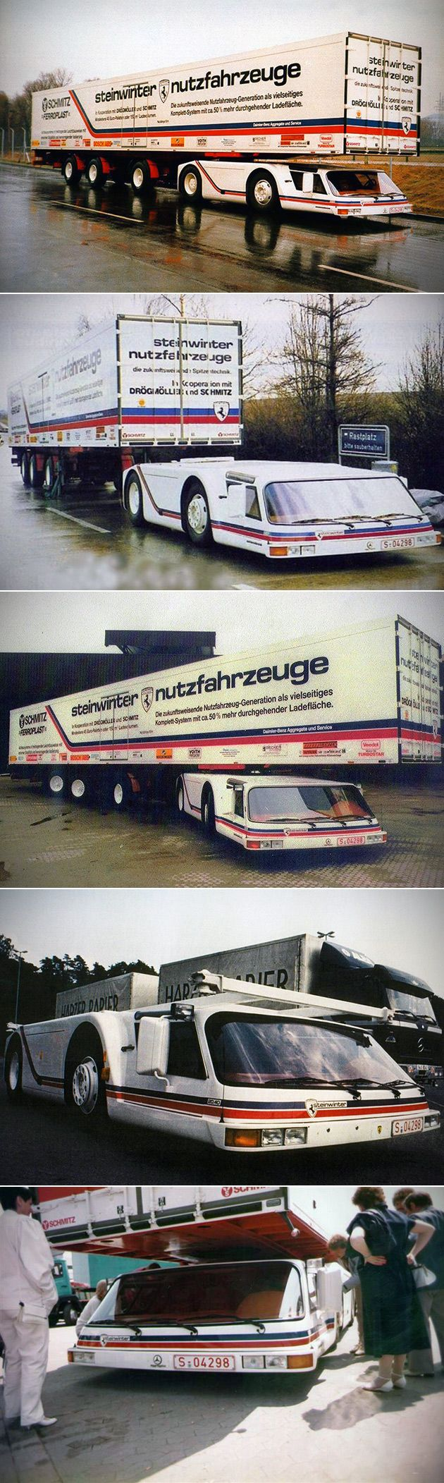 Another non-car to make the board but how cool is this Steinwinter Supercargo