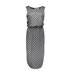Numph Dots sleeveless, Grey, medium