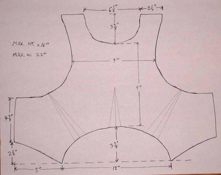 cardboard armour template - roman armor out of cardboard costume ideas pinterest