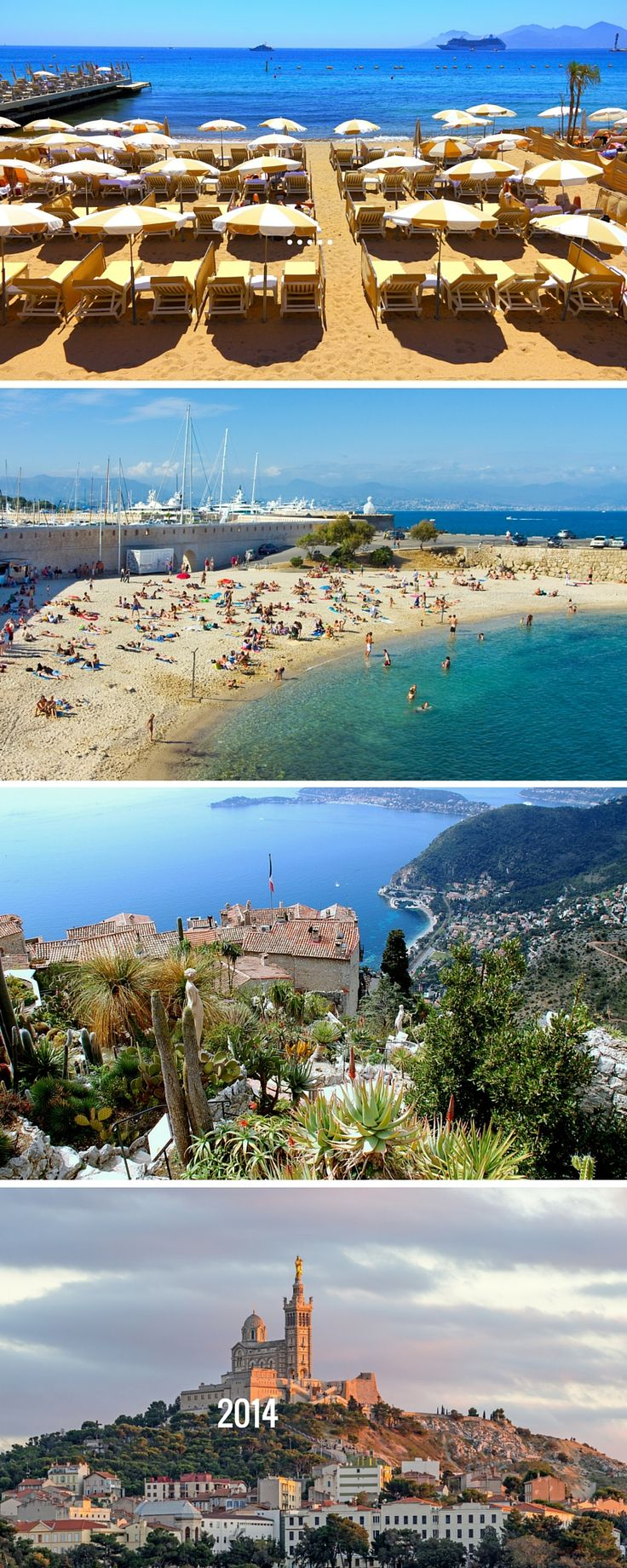 Is there anywhere prettier than the south of France? No? Ok cool. Get to Nice from Paris in about 5 hours by train