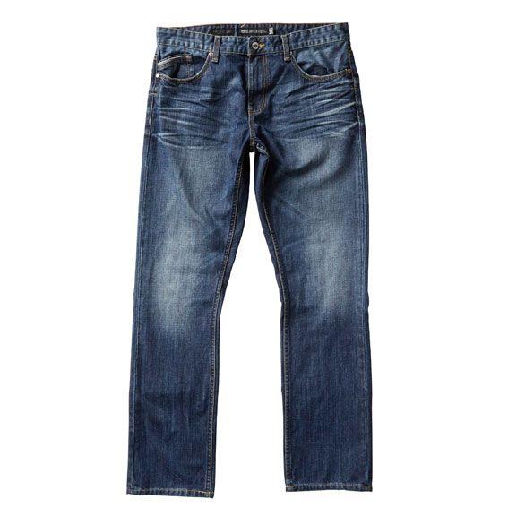 Just Jeans   Mens Regular Slim Denim in Mid Vintage   $79.99