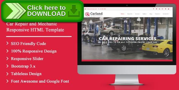 [ThemeForest]Free nulled download CarLand - Car Repair and Mechanic Responsive HTML Template from http://zippyfile.download/f.php?id=5720 Tags: auto fixing, auto garage, Auto Mechanic, auto painting, auto repair, auto service, auto workshop, car fixing, car garage, car mechanic, car painting, Car Repair, car wash, car workshop, garage