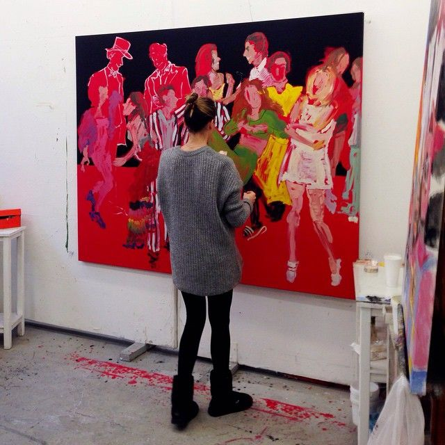 #inprogress #stellakapezanou  #στελλακαπεζανου #art #artist